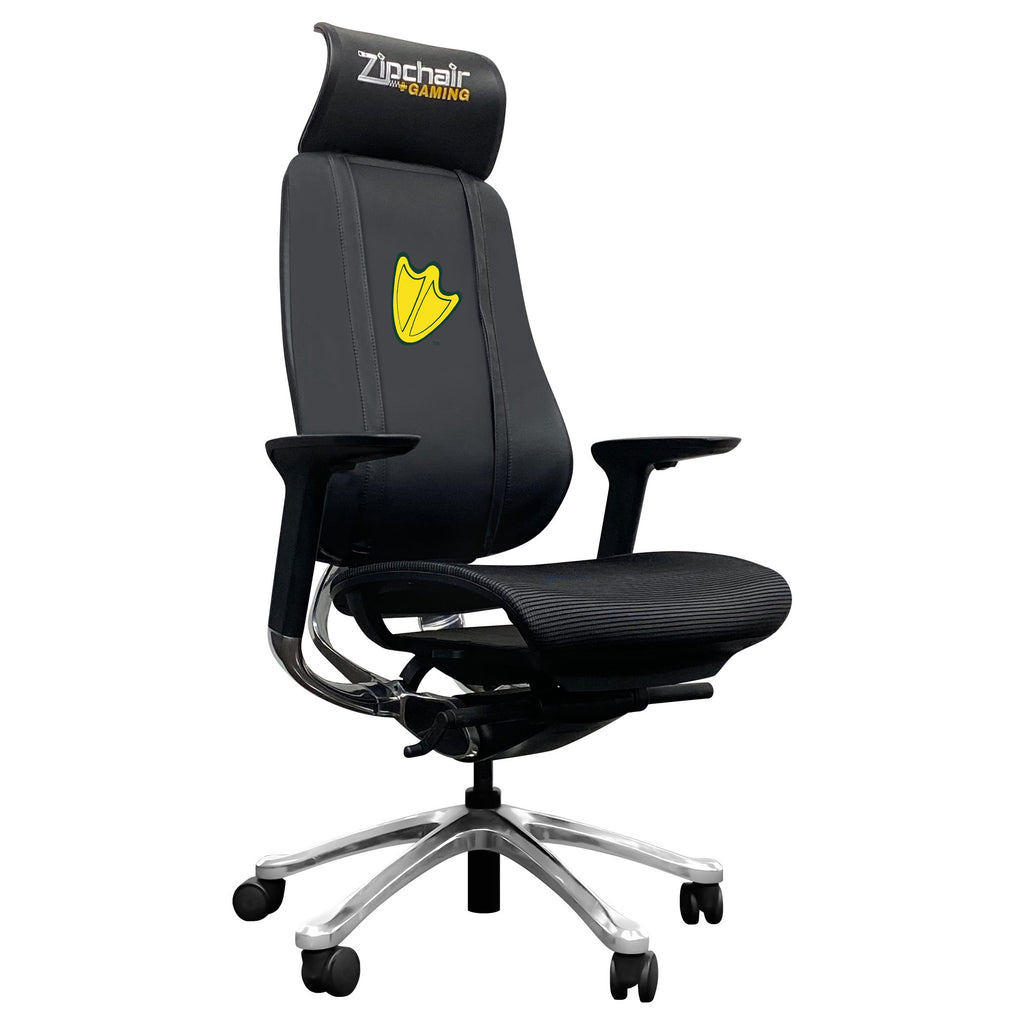 PhantomX Gaming Chair with Oregon Ducks Secondary Logo