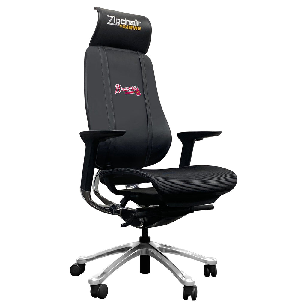 PhantomX Mesh Gaming Chair with Atlanta Braves Logo
