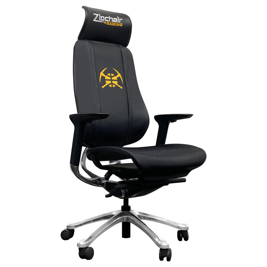 PhantomX Mesh Gaming Chair with Denver Nuggets Secondary Logo