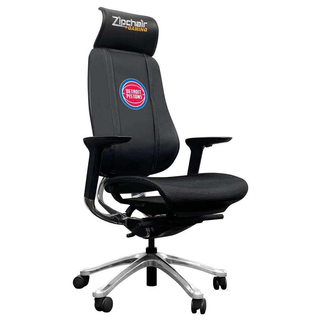 PhantomX Mesh Gaming Chair Detroit Pistons Logo