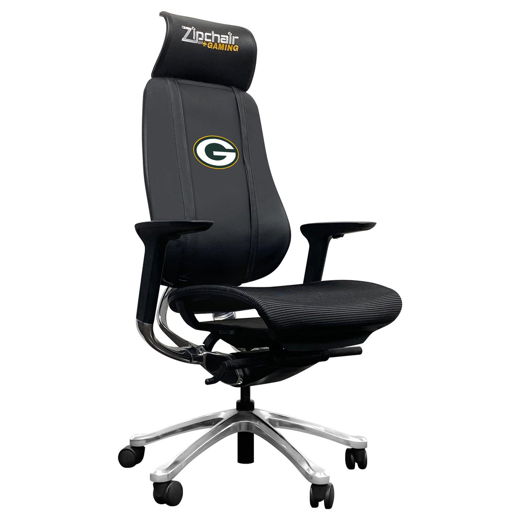 PhantomX Mesh Gaming Chair with  Green Bay Packers Primary Logo