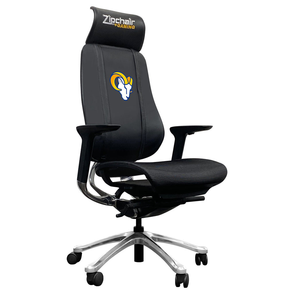 PhantomX Mesh Gaming Chair with  Los Angeles Rams Secondary Logo