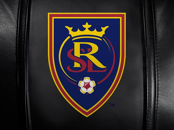 Real Salt Lake Logo Panel Fits Xpression Gaming Chairs Only