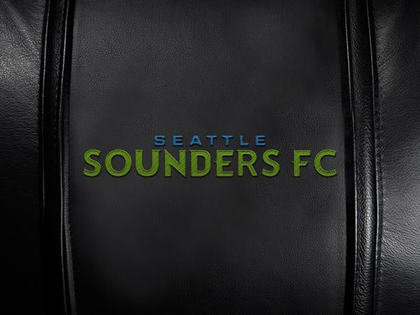 Seattle Sounders Wordmark Logo Panel Standard Size