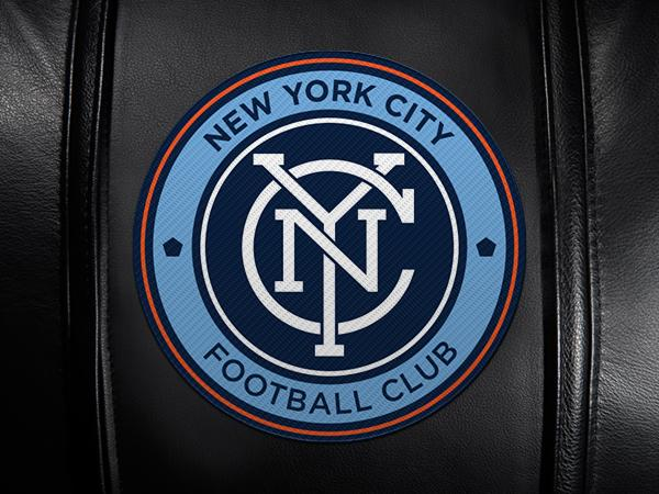 New York City FC Primary Logo Panel Fits Xpression Gaming Chair Only