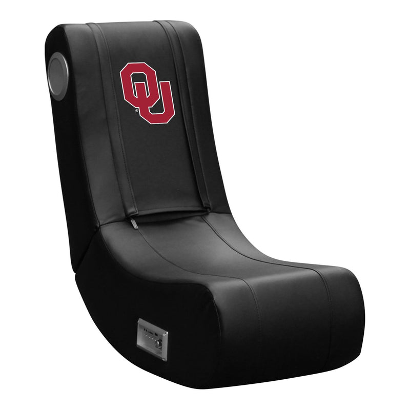 Game Rocker 100 with Oklahoma University Sooners with Red Logo with White Outline