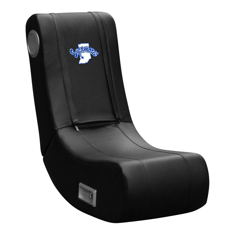Indiana State Sycamores Xpression Gaming Chair with Logo