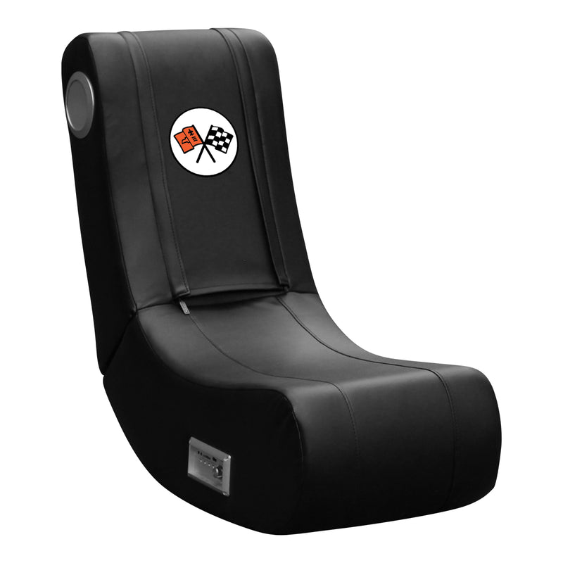 Stealth Recliner with Corvette C6 Logo