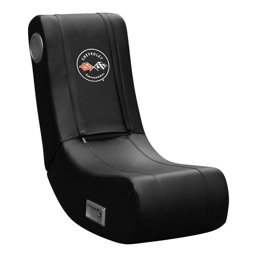 Game Rocker 100 with Corvette C1 Logo Logo Panel