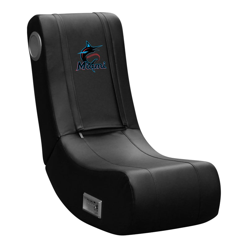 Miami Marlins Alternate Logo Panel For Stealth Recliner