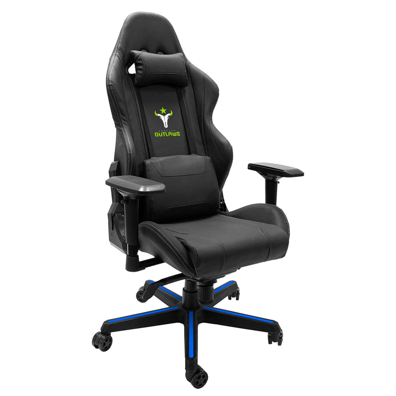 Houston Outlaws Xpression Gaming Chair with Logo