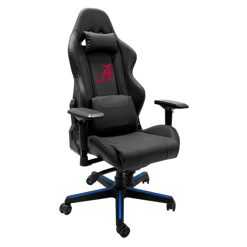 Alabama Crimson Tide with Red A Xpression Gaming Chair with Logo
