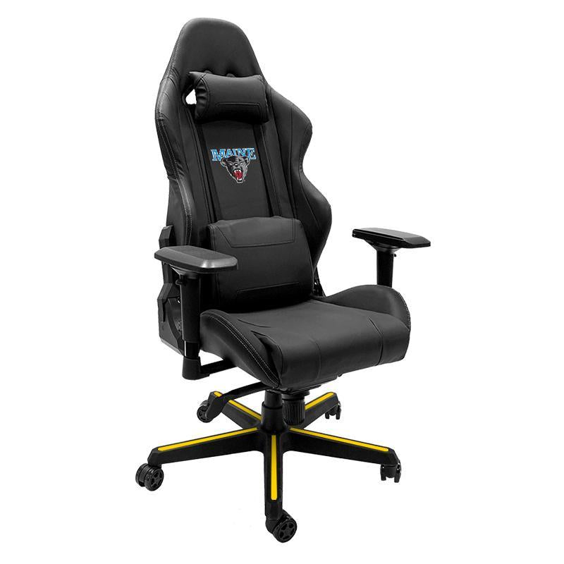 Maine Black Bears Xpression Gaming Chair with Logo