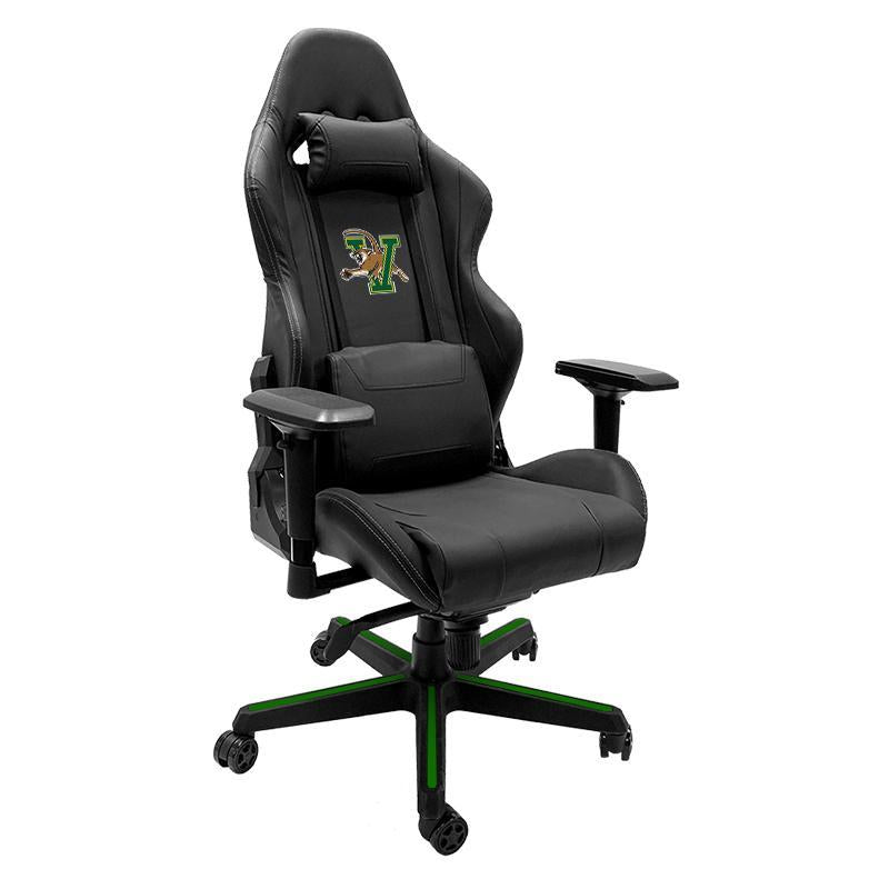 Vermont Catamounts Xpression Gaming Chair with Logo