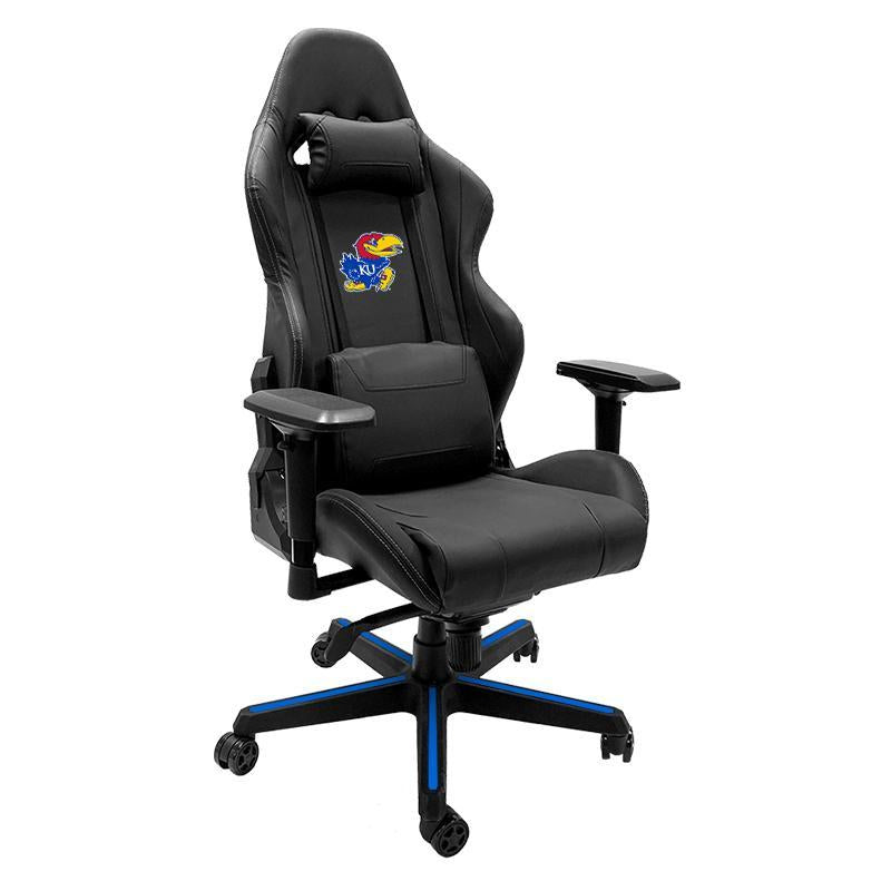 Kansas Jayhawks Xpression Gaming Chair with Logo