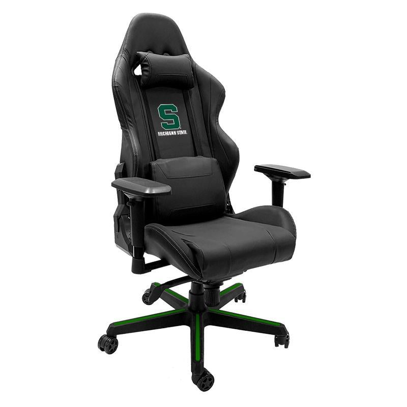 Michigan State Spartans with Secondary Xpression Gaming Chair with Logo