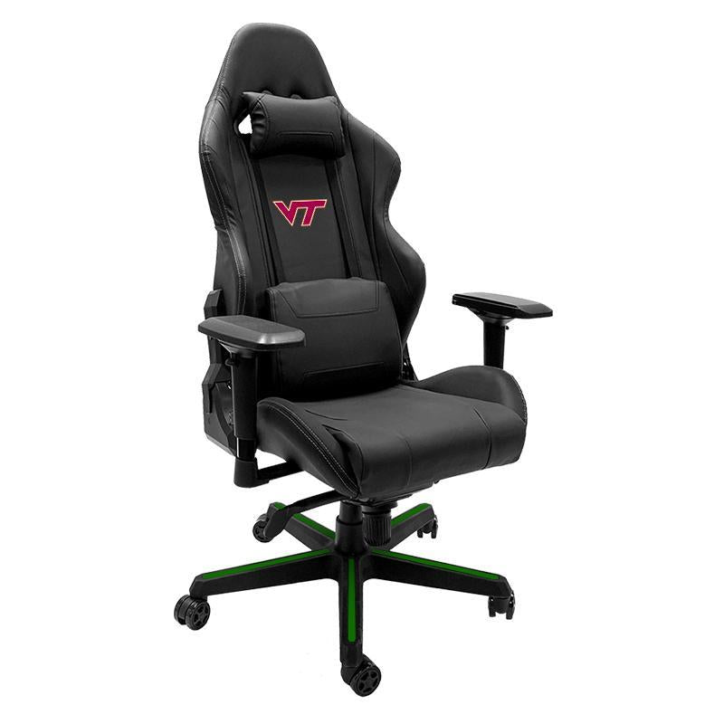 Virginia Tech Hokies Xpression Gaming Chair with Logo