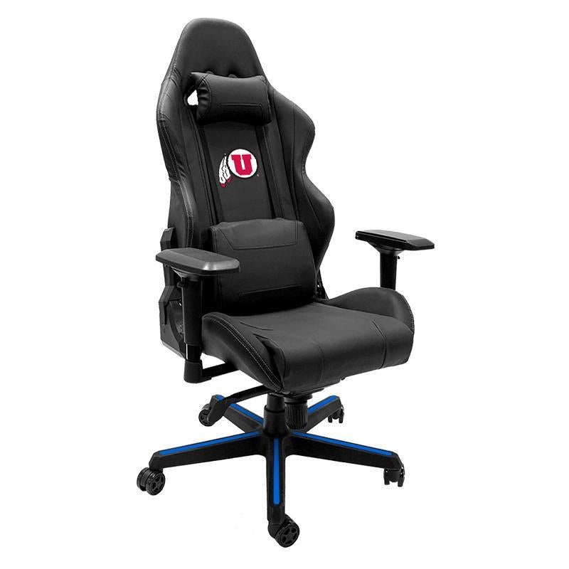 Utah Utes Xpression Gaming Chair with Logo