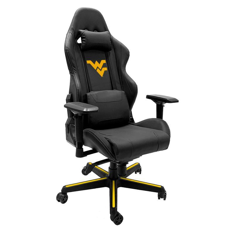 West Virginia Mountaineers Xpression Gaming Chair with Logo