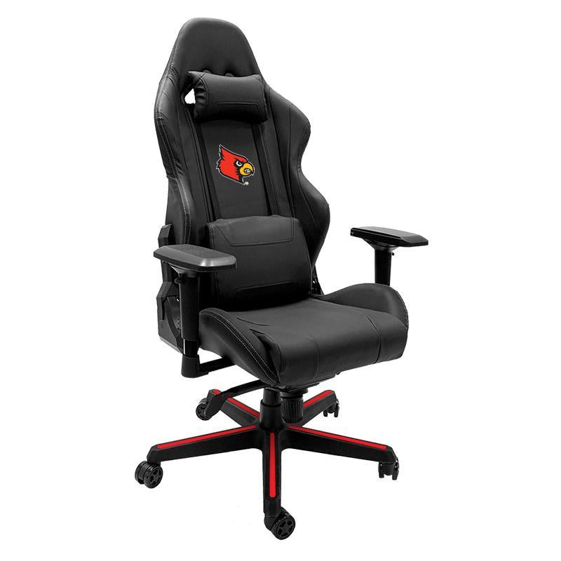 Louisville Cardinals Xpression Gaming Chair with Logo