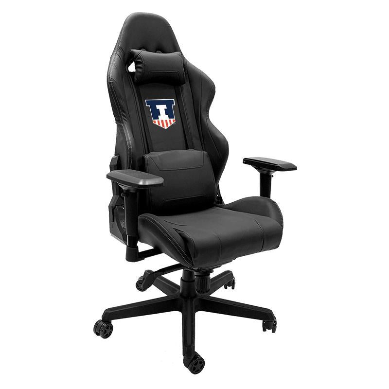 Illinois Fighting Illini Xpression Gaming Chair with Logo