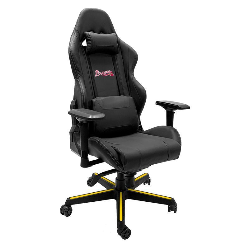Atlanta Braves Xpression Gaming Chair with Logo