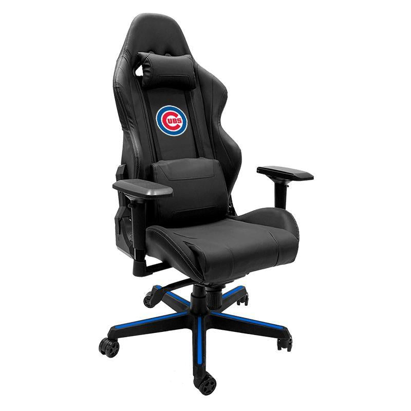 Chicago Cubs Xpression Gaming Chair with Logo
