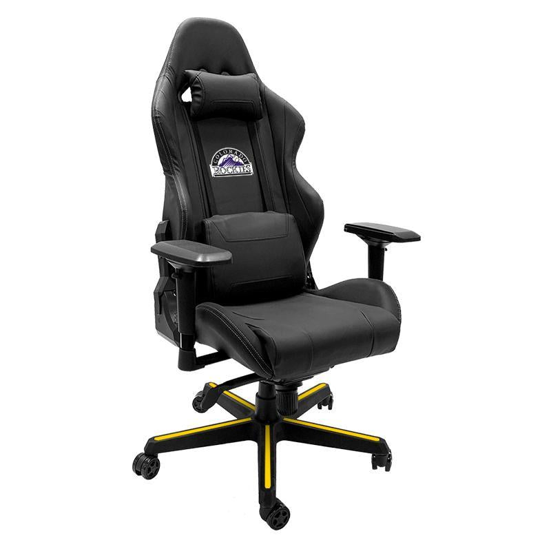 Colorado Rockies Xpression Gaming Chair with Logo