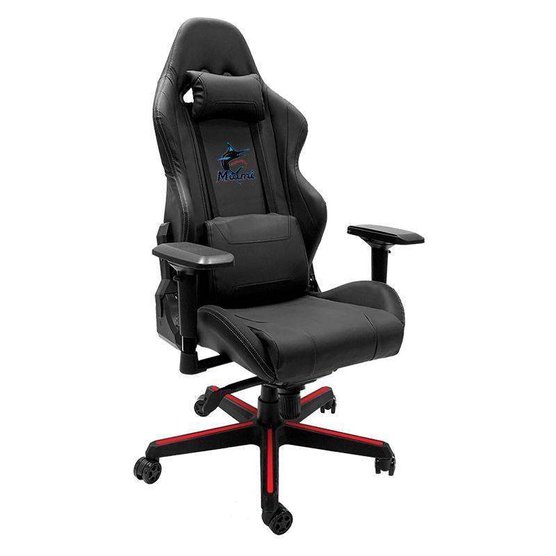 Miami Marlins Primary Xpression Gaming Chair with Logo