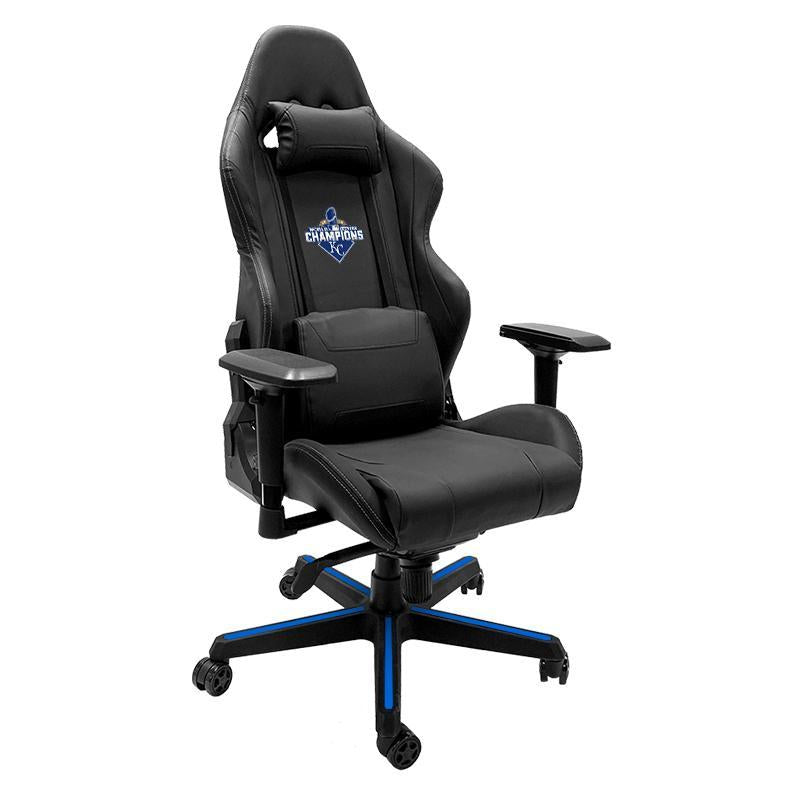 Kansas City Royals 2015 Champions Xpression Gaming Chair with Logo