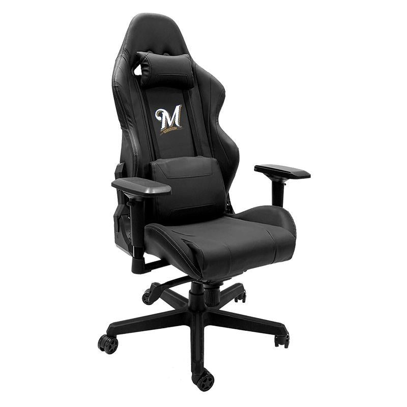 Milwaukee Brewers Secondary Xpression Gaming Chair with Logo