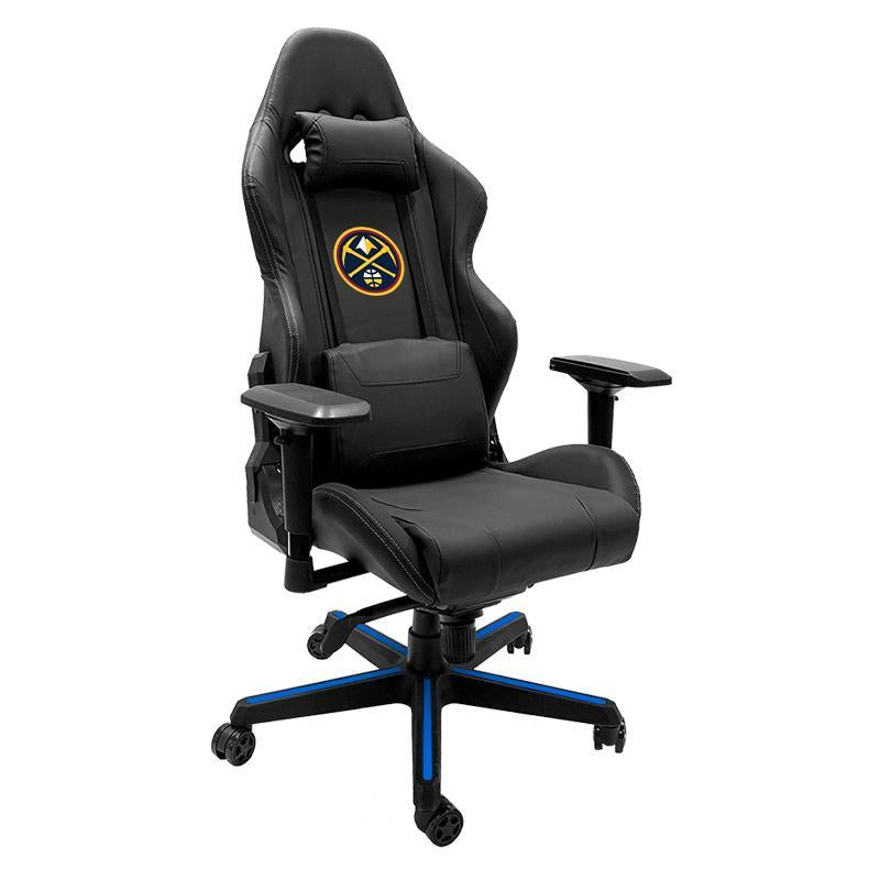 Denver Nuggets Primary Xpression Gaming Chair with Logo