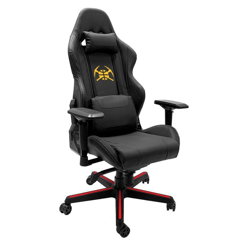 Denver Nuggets Secondary Xpression Gaming Chair with Logo