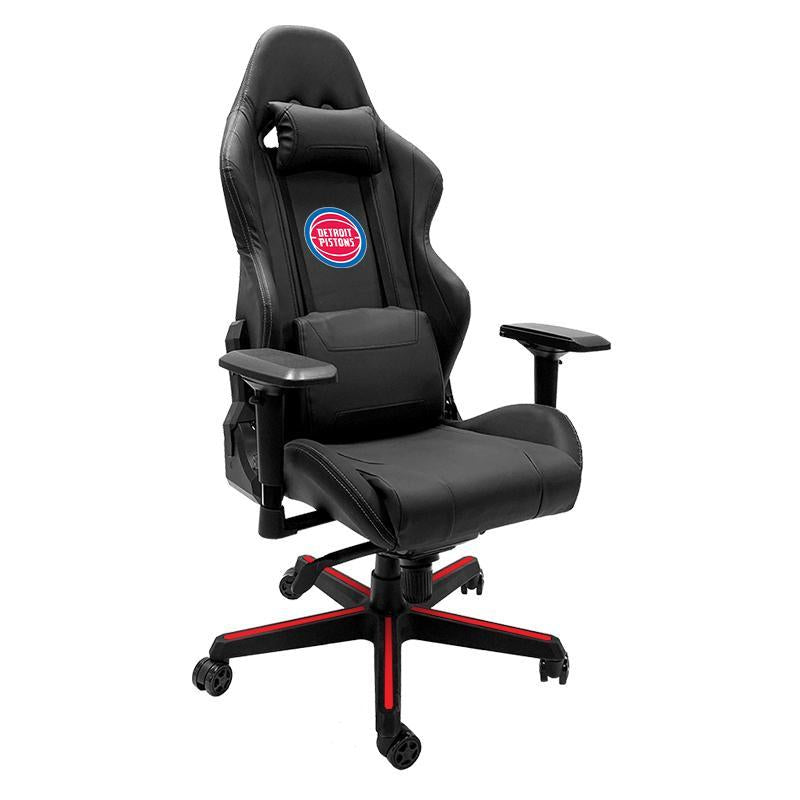 Detroit Pistons Xpression Gaming Chair with Logo