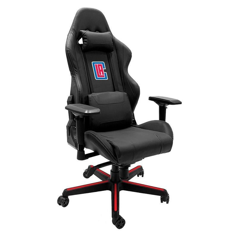 Los Angeles Clippers Secondary Xpression Gaming Chair with Logo