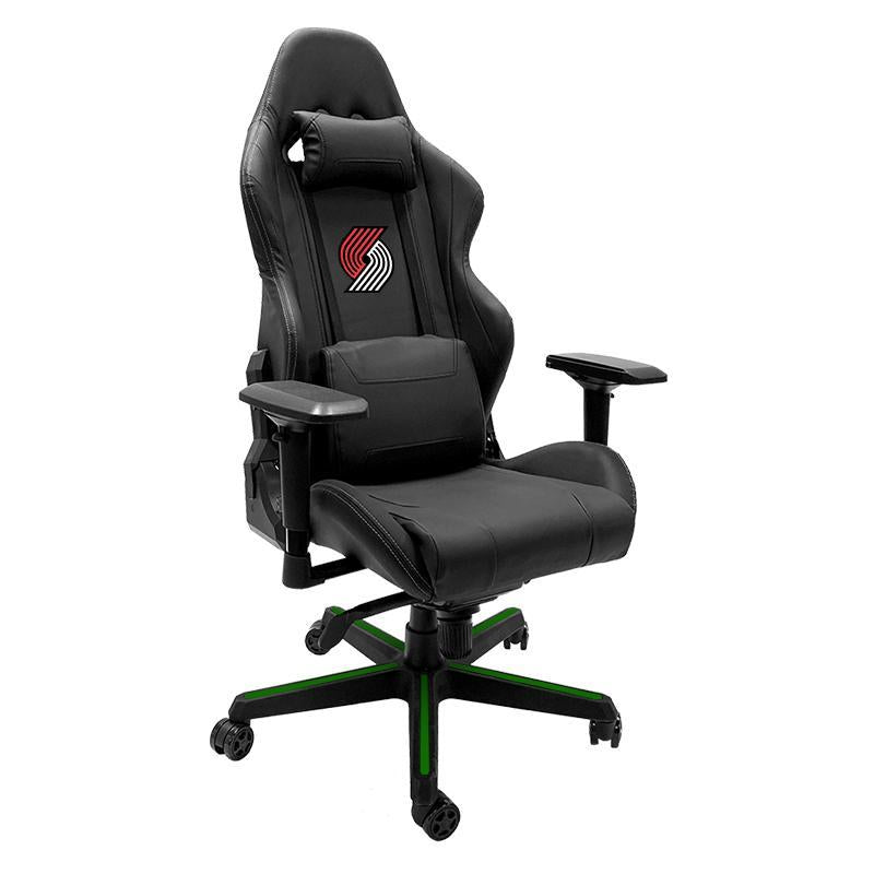 Portland Trailblazers Xpression Gaming Chair with Logo