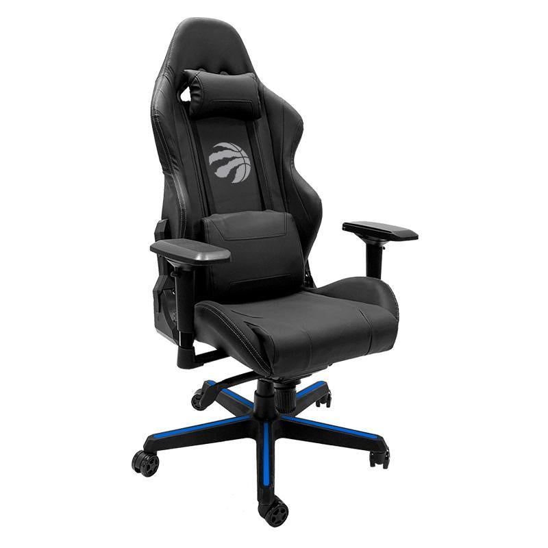 Toronto Raptors Primary Silver Xpression Gaming Chair with Logo