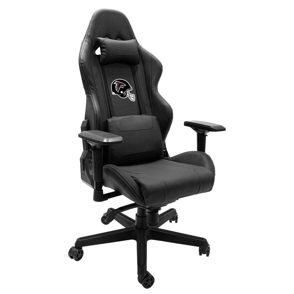 Xpression Gaming Chair with Atlanta Falcons Helmet Logo
