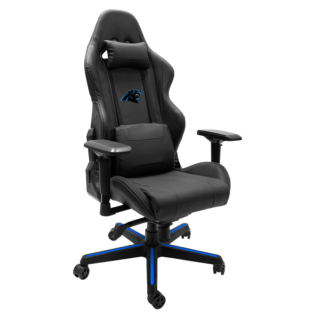 Xpression Gaming Chair with  Carolina Panthers Primary Logo