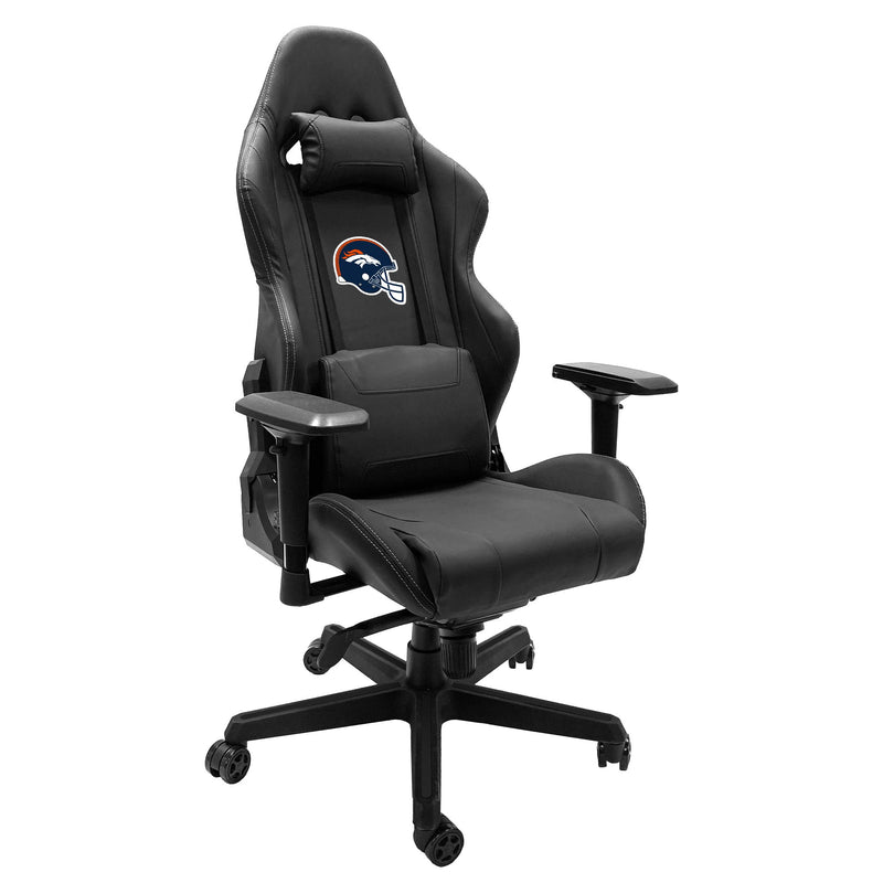 Xpression Gaming Chair with  Denver Broncos Helmet Logo