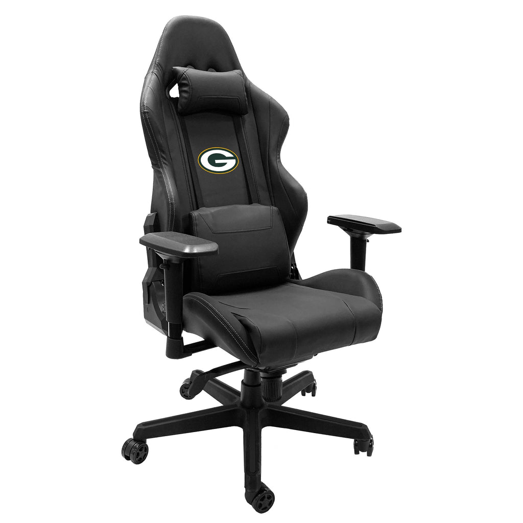Xpression Gaming Chair with  Green Bay Packers Primary Logo