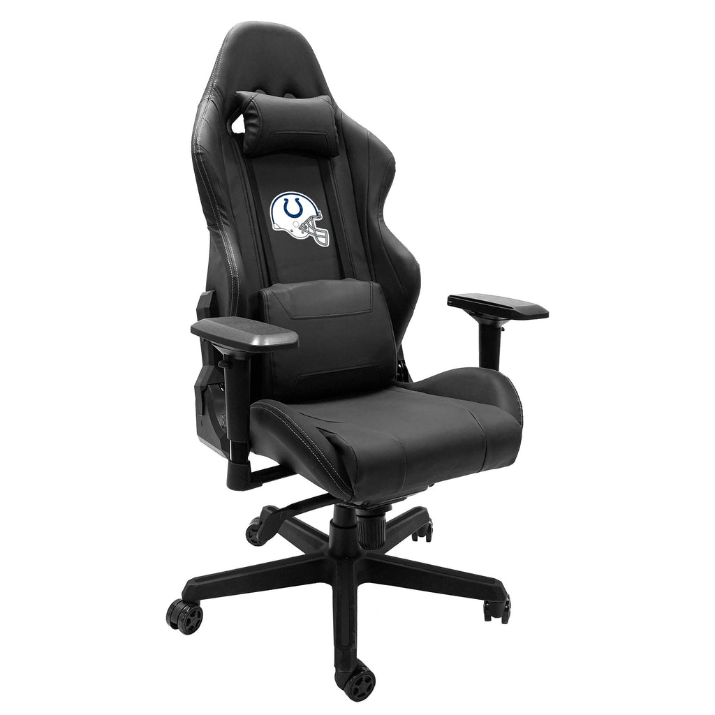 Xpression Gaming Chair with  Indianapolis Colts Helmet Logo