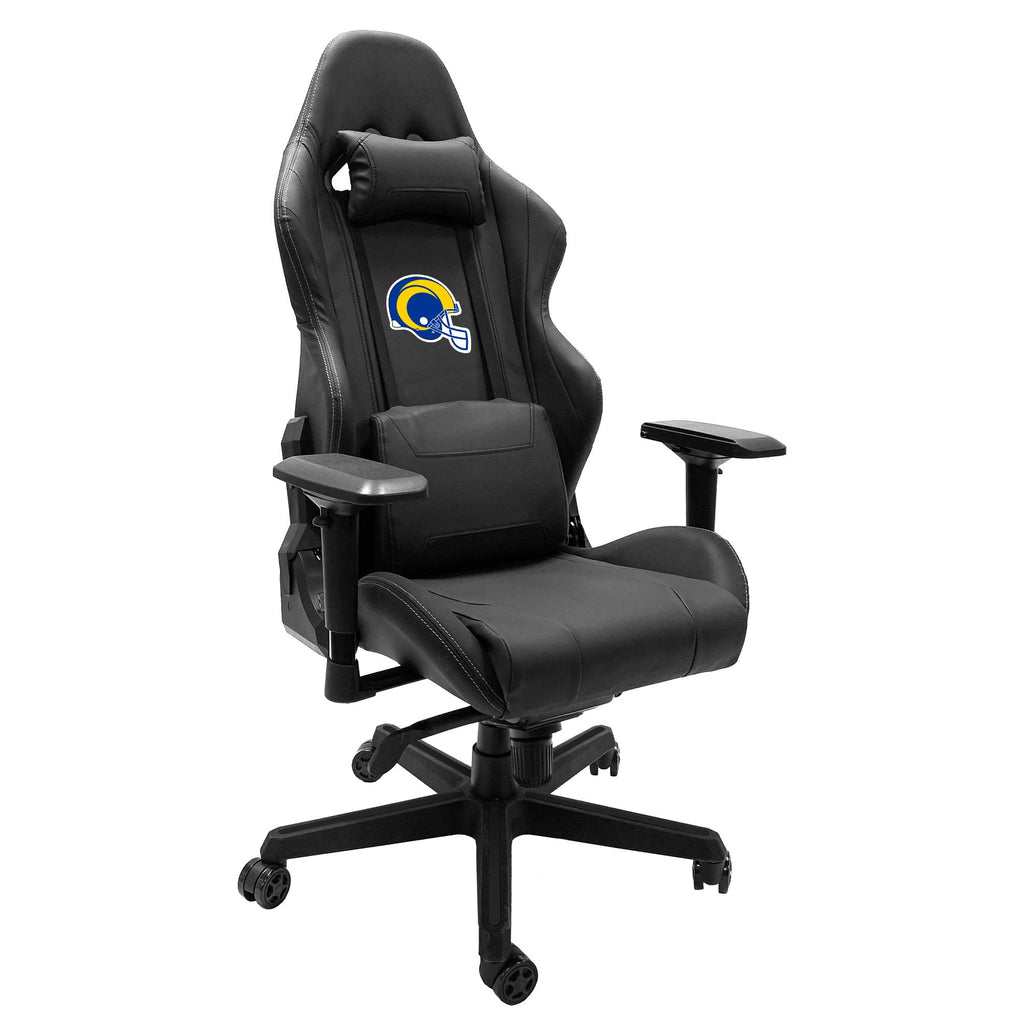 Xpression Gaming Chair with  Los Angeles Rams Helmet Logo