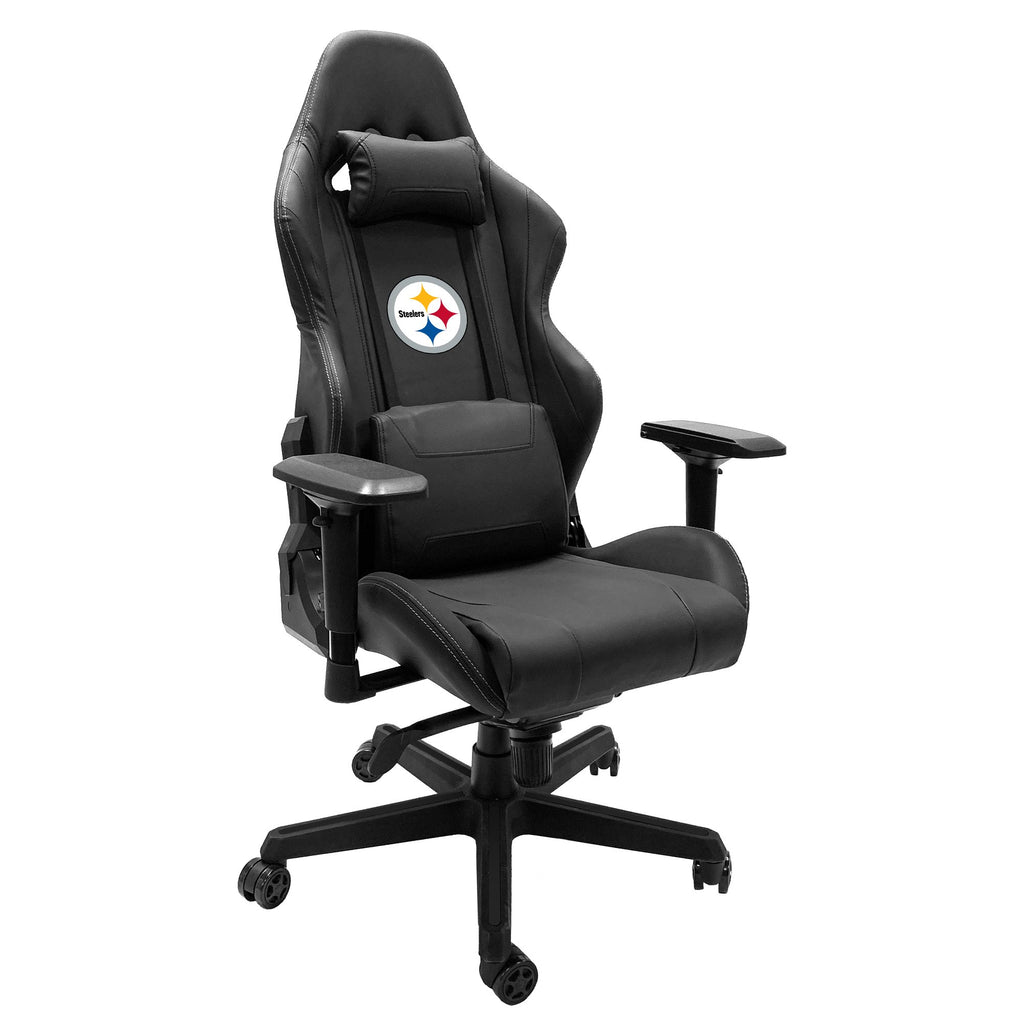 Xpression Gaming Chair with  Pittsburgh Steelers Primary Logo