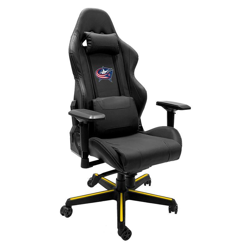 Columbus Blue Jackets Xpression Gaming Chair with Logo