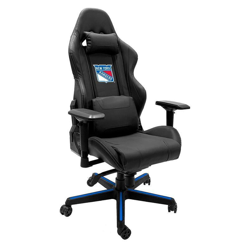 New York Rangers Xpression Gaming Chair with Logo