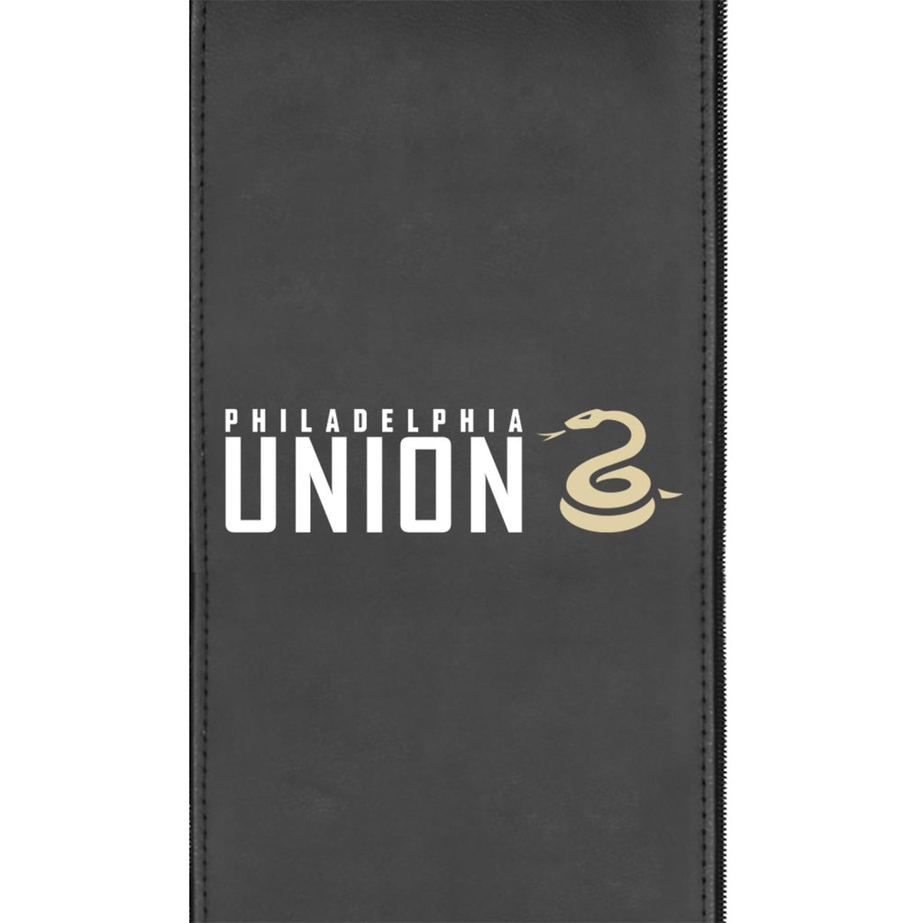Philadelphia Union Wordmark Logo Panel Standard Size