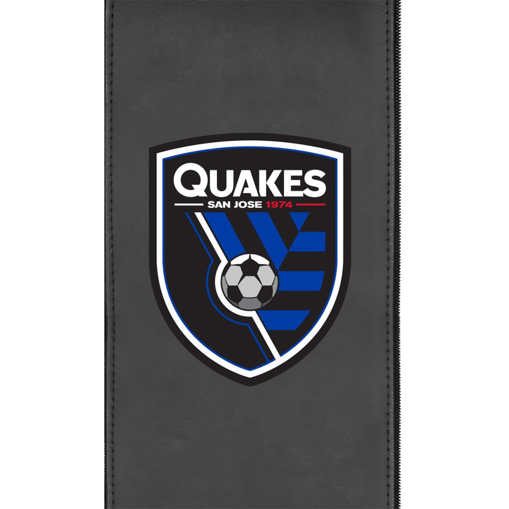 San Jose Earthquakes Logo Panel Fits Xpression Gaming Chairs Only