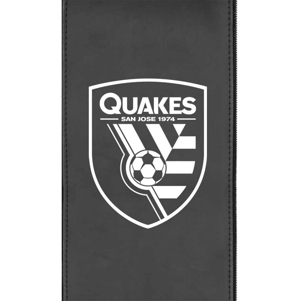 San Jose Earthquakes Alternate Logo Panel Fits Xpression Gaming Chairs Only
