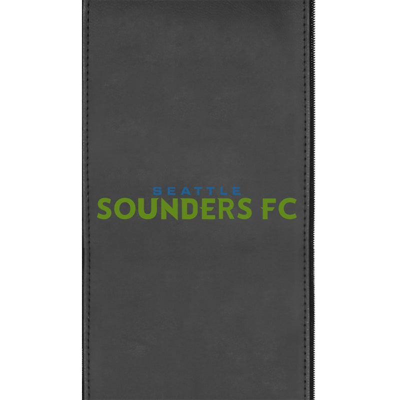 Seattle Sounders Wordmark Logo Panel Fits Xpression Gaming Chairs Only